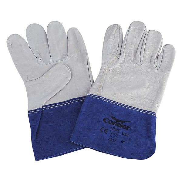 Condor Welding Gloves, TIG Welding, 12In., M, PR 2AJ91