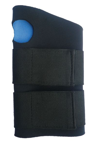 Condor Wrist Support, S, Ambidextrous, Black 1AGH3