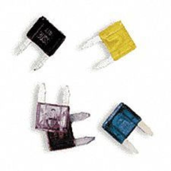 """Eaton Bussmann Automotive Fuse,  Fast Acting,  10 A,  ATM Series,  Not Rated,  32V DC,  41/64"""" L x 7/16"""" W x 5/32"""" D ATM-10"""