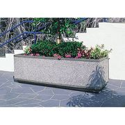 Planter 36in.Lx18in.Wx18in.H Wausau Tile TF4155W22 Rectangle
