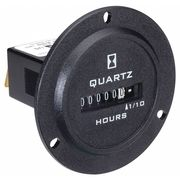 HONEYWELL 28105 Hour Meter,120 to 240VAC,50//60Hz