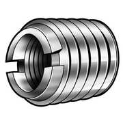 Helical Insert,SS,1//4-20,0.250 In L,Pk10 ZORO SELECT 3532-1//4X1.0D