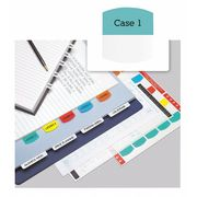 REDI-TAG Laser Tab, 1-1/8 in., Assorted, PK100