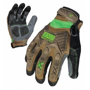 ZORO SELECT 1AGJ3 Anti-Vibration Gloves,XL,Black,PR