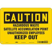 10 Height x 7 Width Brady 122841 Protective Wear Sign White on Brown