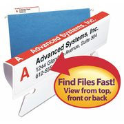 """SMEAD Labels,  Color Labeling System Refill,  3.5"""",  White,  PK160"""