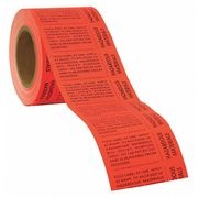 Black//Blue//Red//Yellow On White Brady Drop Ship 20035VLS Hazardous Communication and Right-to-Know Labels Adhesive Vinyl