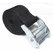 "VELCRO BRAND G1X12KVSG 1/"" W x 12/"" L Hook-and-Loop Black Reclosable Cinch Strap,"