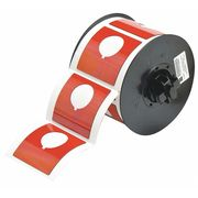 Continuous Labels//Roll Orange BRADY B30C-4000-595-OR Tape