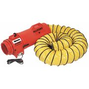 ALLEGRO 9500-500 Lay Flat Ducting,8//12 in.,500 ft