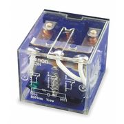 OMRON LY3-AC24 Plug In Relay,11 Pins,Square,24VAC
